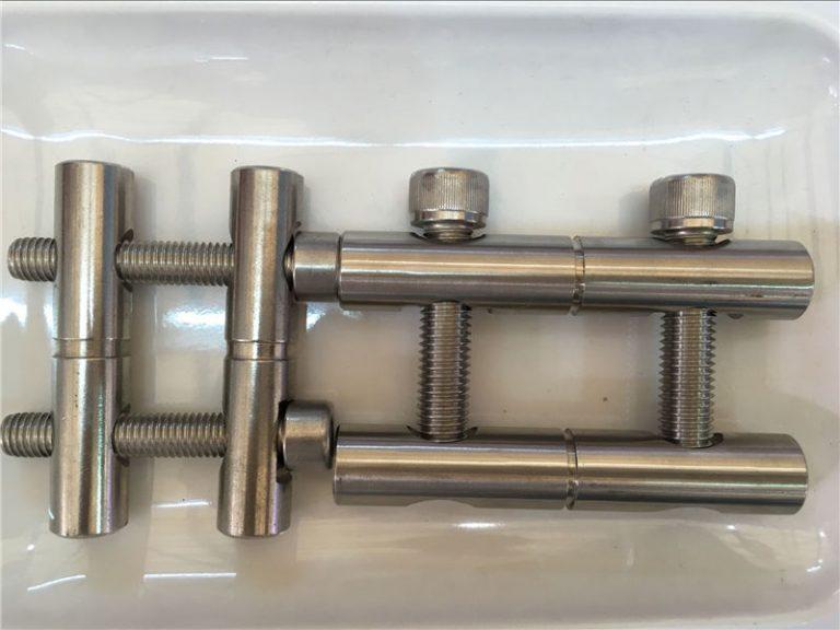 ansi 316ti / it 1.4571, 317l / it 1.4438 serie di bielle in acciaio inossidabile