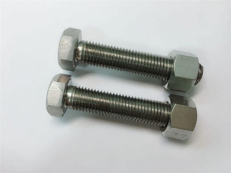 a182 904l ss fasteners w.nr 1.4539 lega n08904