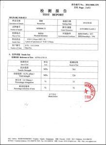 Certificato per A193 B8M CL2