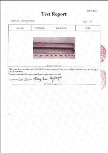 Certificato per A453 660B 3