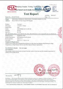 Certificato per S31254