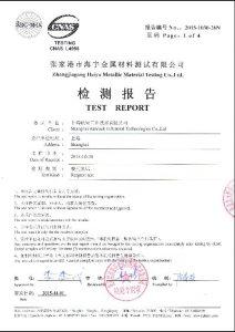 Certificato per S32760