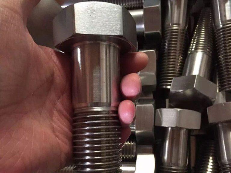 incoloy 825 en 2.4858 bullone in acciaio inossidabile vite di fissaggio inconel718 en2.4668
