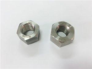 No.108-Elementi di fissaggio in lega speciale produttore hastelloy dadi C276