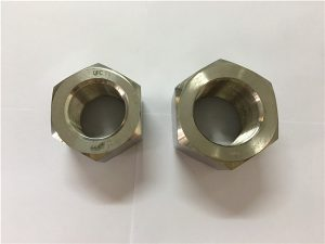 No.111-Fabbricazione in lega di nichel A453 660 1.4980 dadi esagonali