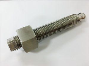 No.22-Bullone e fissaggio a testa sferica in acciaio inossidabile fresatura CNC personalizzati