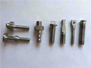 Bullone per bicicletta macchina CNC in oro n. 40-titanio