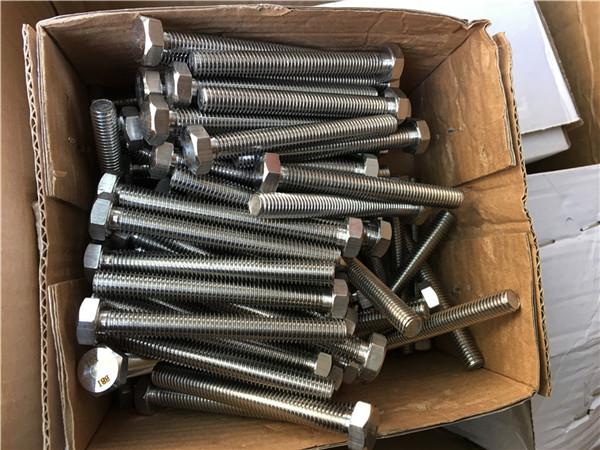 Rondelle esagonali m24 * 80mm con bulloni esagonali speciali in acciaio inossidabile 310s / 1.4845