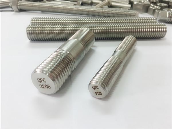 duplex 2205 s32205 2507 s32750 1.4410 tassello in legno di alta qualità ancoraggio asta filettata