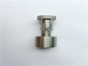 No.95-SS304, 316L, 317L SS410 Bullone di trasporto con dado tondo, elementi di fissaggio non standard
