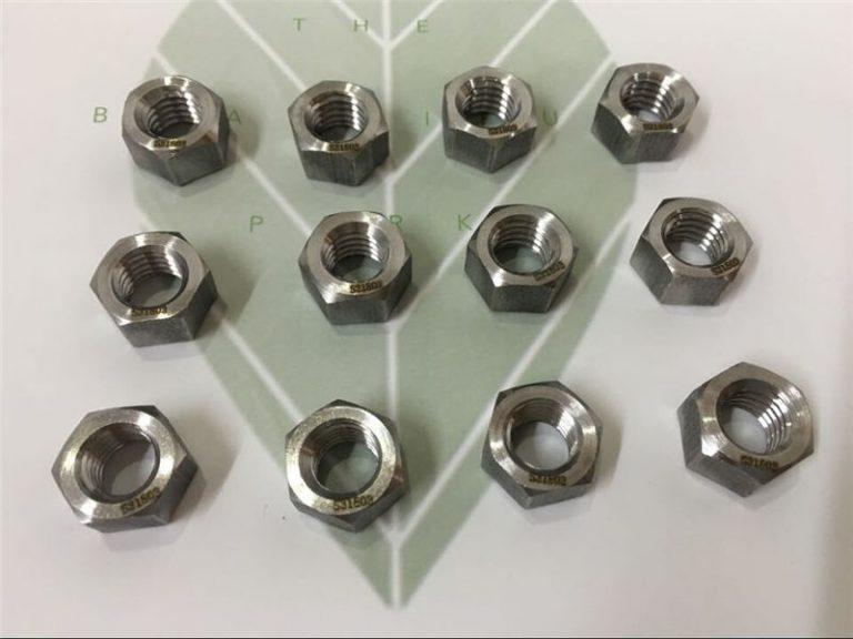 duplex 2205 a182 f51 uns s31803 en1.4462 bullone esagonale din933 di fissaggio