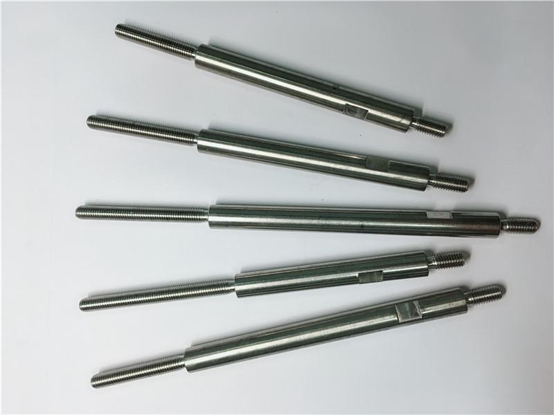 viteria in acciaio inossidabile con lavorazione di precisione filettata