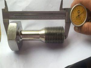 fissaggio a vite per lavorazione meccanica di precisione parti tornite cnc personalizzate