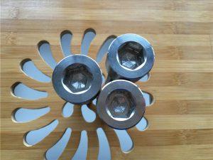 Vite / bullone / dado / rondella di titanio gr2 con esagono incassato ASEM di alta qualità